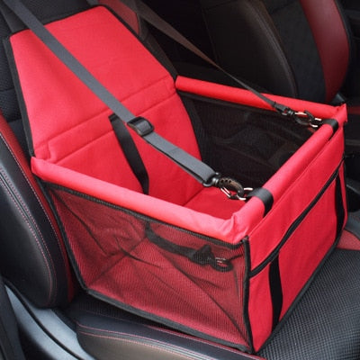 Image of Travel Dog Car Seat Cover Folding Hammock Pet Carriers Bag Carrying