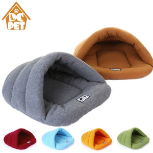 Winter Warm Slippers Style Dog Bed Pet Dog House Lovely Soft Suitable Cat Dog Bed House