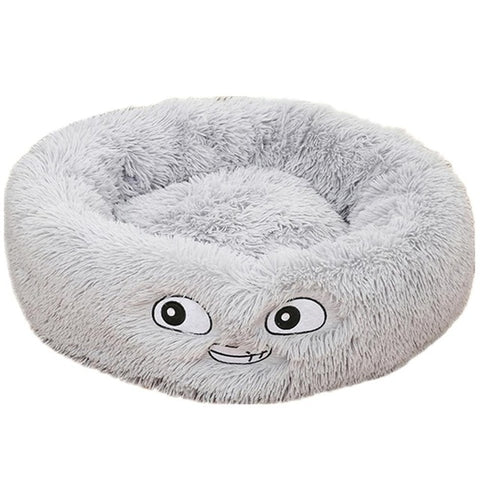 Soft Dog Bed Washable Long Plush Dog Kennel Cat House Mats Sofa For Dog Chihuahua Dog