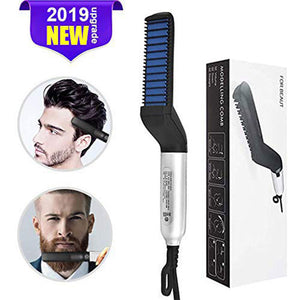Electric Beard Straightener Comb for Men Professional Quick Styling Comb