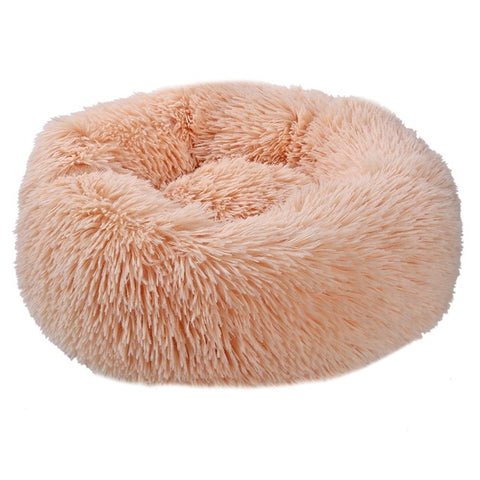 Image of Super Soft Dog Bed Washable long plush Dog Kennel Deep Sleep Dog House Velvet Mats