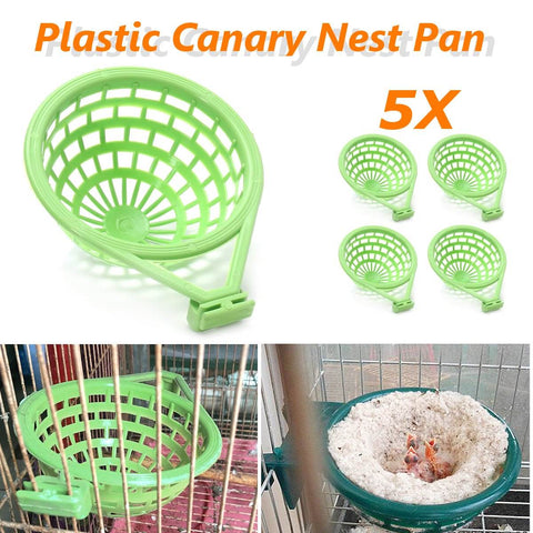 Image of Large Palstic Canary Nest Cage Pan Liner For Nesting Canaries