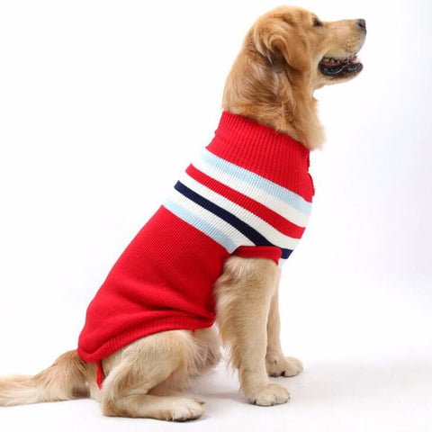 Image of Dog Sweaters cute dog clothes in winter big dog clothes small puppy winter sweater