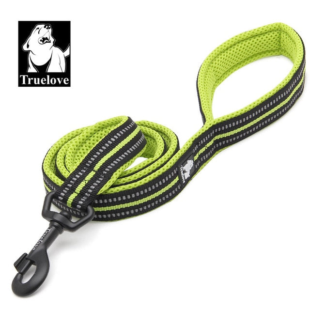 Dog Leash Double Trickness  Running Reflective safe Walking Training