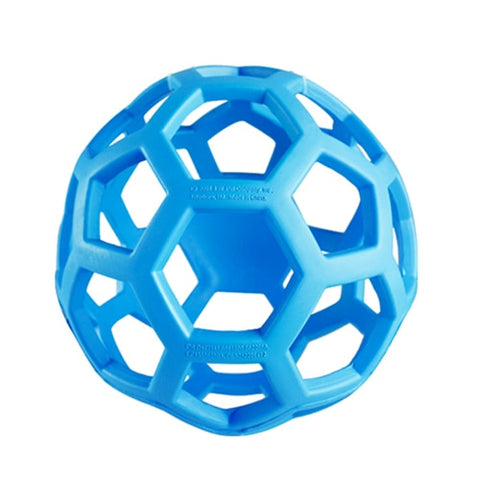 Geometric Ball Pet Dog Toys Natural Non-Toxic Rubber Ball Toy Chew Toys