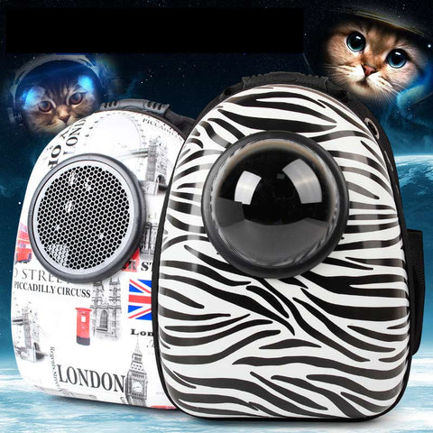 Image of Luxury Dog Bag Doghouse Outdoor Doggy Bag Dog Hiking Cat Carry Bag Carrier Backpack