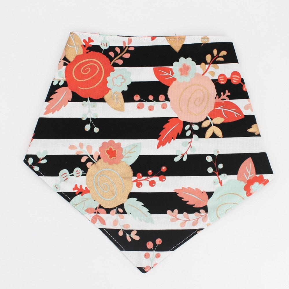 Dog Bandana Reversible Bandana Tie on Bandana Dog Scarf