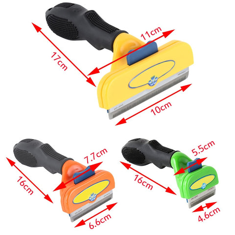 Dog Hair Remover Cat Brush Grooming Tools Clipper Attachment Pet Trimmer Combs