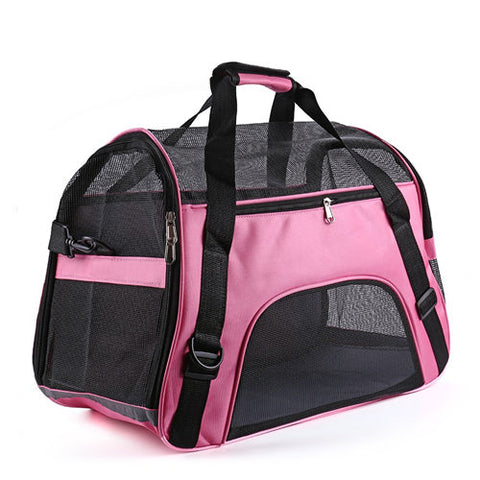 Image of Pet Carrier For Cat Bag Breathable Travel Transport Carrying Bag Sling Backpack