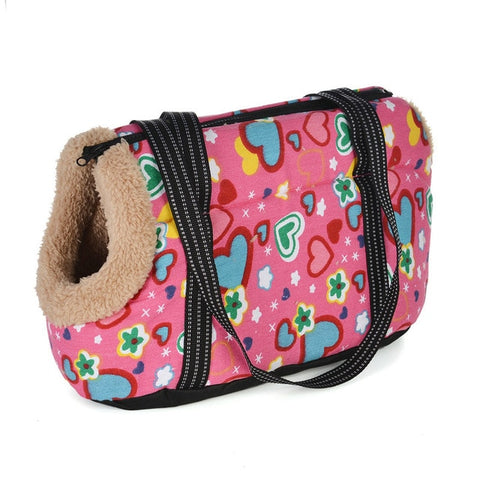 Image of Classic Pet Carrier For Small Dogs Cozy Soft Puppy Cat Dog Bags Backpack