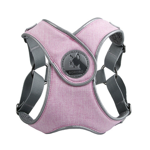 Image of Dog Harness Vest Choke Free X Step-In Soft Mesh Pet Harness 3M Reflective Dog Harness
