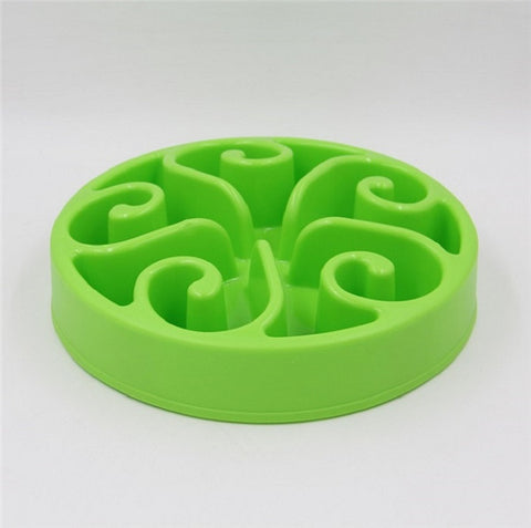 Eat Slow Dog Bowl Slow Feeder Bath Pet Supplies Pet Accessories Dog Slow Feeder