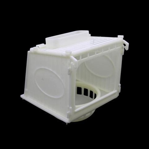 Image of Bird Cage Bird House Parrot Cage White High Quality Plastic Pet Bird's Nest Removable