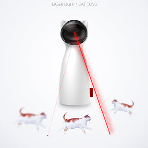 Creative Cat Pet LED Laser Funny Toy  Smart Automatic Cat Exercise Training Entertaining Toy