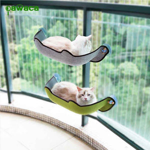 Cat Hammock Bed Mount Window Pod Lounger Suction Cups Warm Bed For Pet