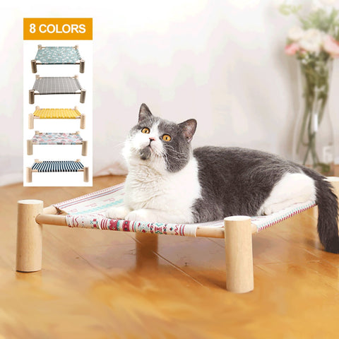 Cat Hammock Bed Pet House For Dogs Puppy Lazy Mat Cushion Lounger