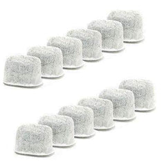 12 Pack Charcoal Water Filters for Breville Espresso & Coffee Makers, BWF100