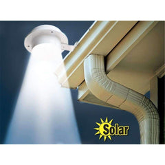 3 LED Solar Powered Gutter Light Outdoor/Garden/Yard/Wall/Fence/Pathway Lamp