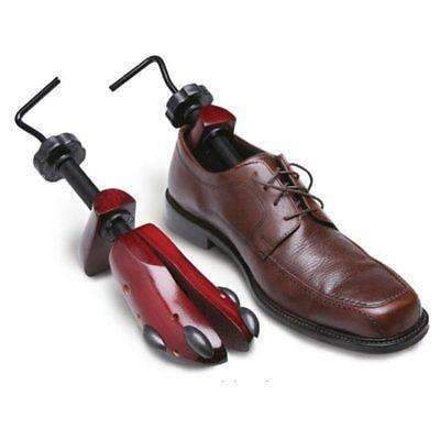 Cedar Wood Shoe Stretchers with Pressure Point Plugs - Men's Size 9-14 - 1 Pair