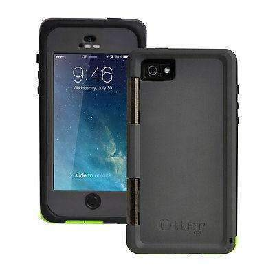 New Otterbox Armor Series Waterproof Phone Case For Apple iPhone 5/5S/SE Green