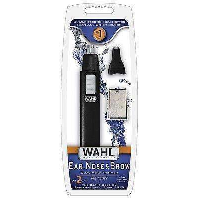 Wahl Ear, Nose - Brow Dual-Head Wet/Dry Trimmer 1 ea