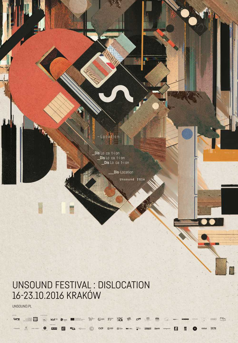 Unsound 2016 Dislocation poster