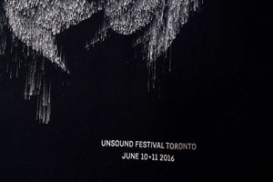 Tote bags made to celebrate Unsound Toronto 2016. Not many left - now on sale.
