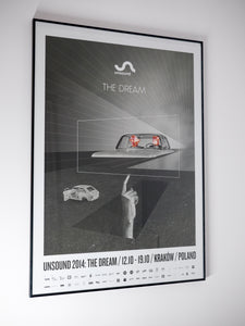 Unsound 2014 The Dream Poster