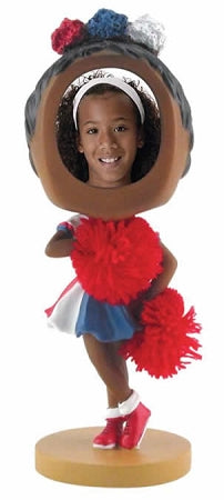 Cheerleader Photo Bobble head