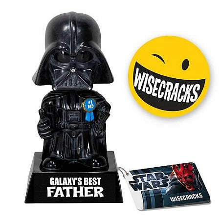 Star Wars Wacky Darth Vader Galaxy's #1 Father Figure