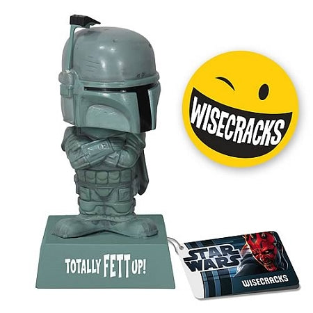 Star Wars Wacky Wisecracks Boba Fett Totally Fett Up! Figure
