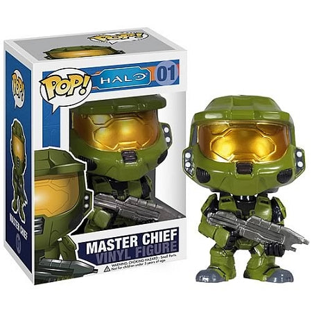 Funko  Halo Master Chief Pop! Vinyl Figure