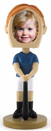 Softball Female Photo Bobble head