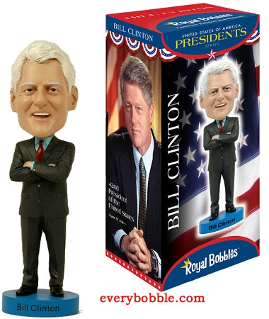 Bill Clinton Bobblehead Doll