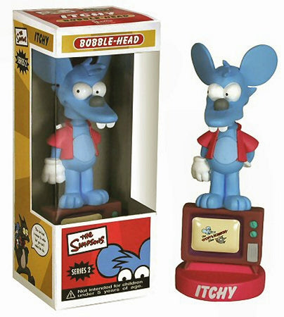 Simpsons - Itchy Series 2 Bobble Head