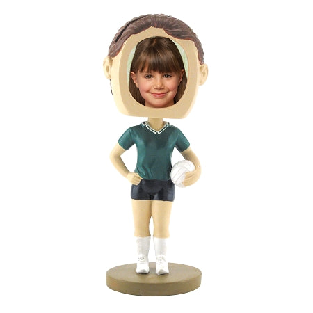 VolleyBall Female Photo Bobble head
