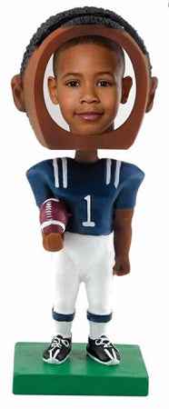 Football male Photo Bobble head