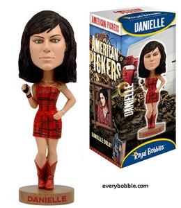 American pickers Danielle Bobble Head Doll