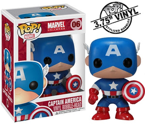 Captain America Pop! Vinyl Bobble Head