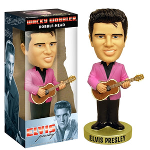 Elvis Presley 50' with Pink Jacket Bobble Head