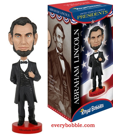 Abraham Lincoln Bobble head Doll