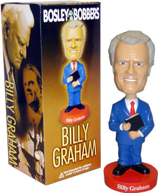 Bosley Bill Graham Bobble Head