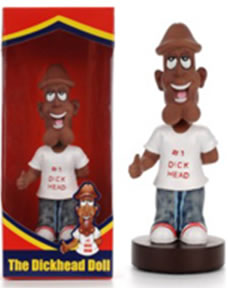 D#@k Head Bobblehead Doll - African American Complexion
