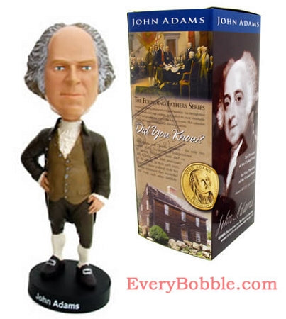 John Adams Bobble Head Doll