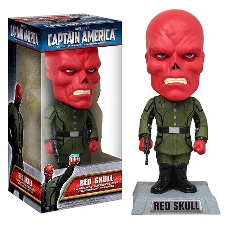 Captain America Movie Red Skull Bobble Head
