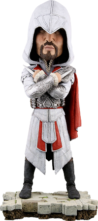 Assassin's Creed - Brotherhood Ezio Head Knocker (Bobble Head) by NECA
