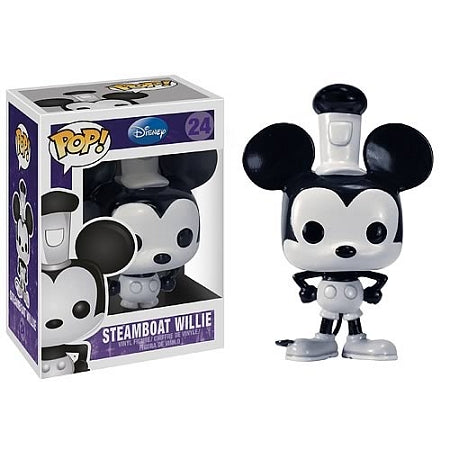 Steamboat Willie Mickey Mouse Disney Pop! Vinyl Figure