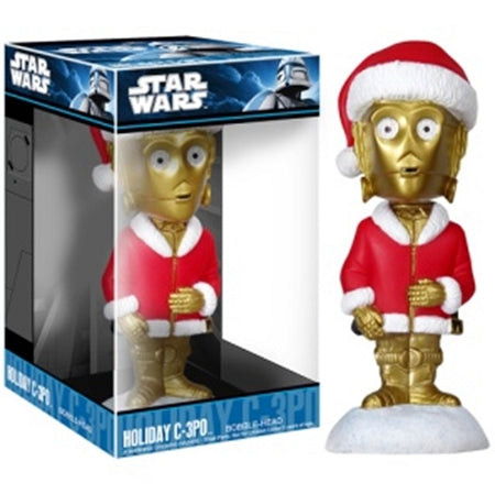 Mini Holiday C-3PO Bobble Head