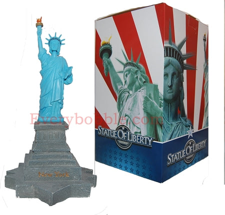 Statue of Liberty Bobble Head - with light