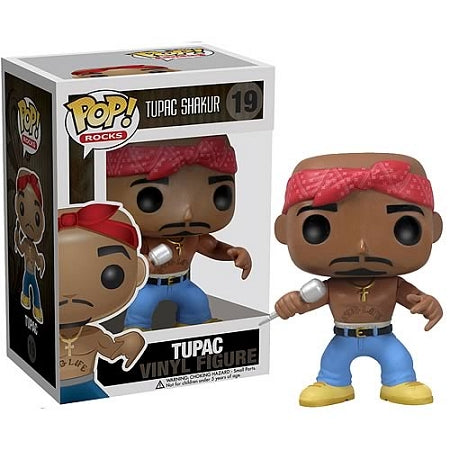 Tupac Shakur Pop! Rocks Vinyl Figure
